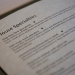 House Specials