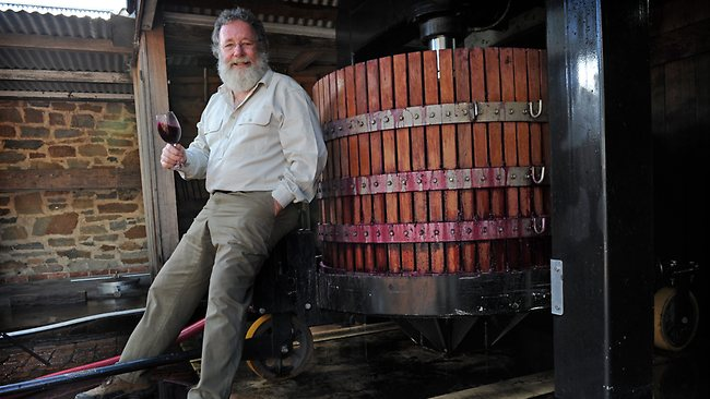 Robert O'Callaghan, Rockford Wines founder